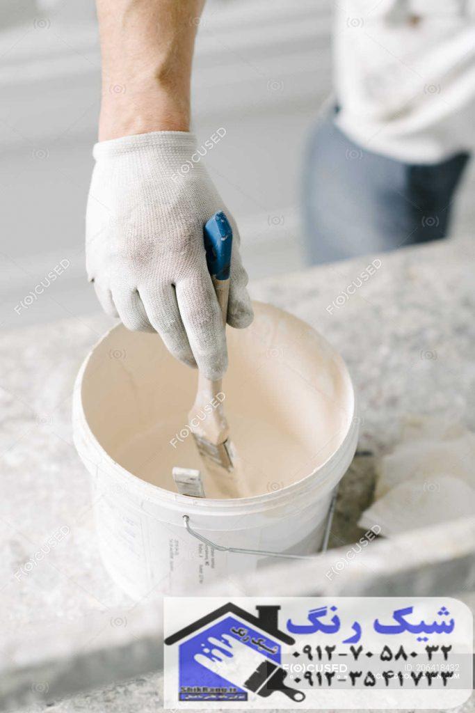 زمان نقاشی ساختمان
