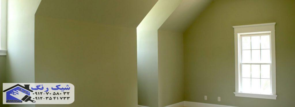 رنگ کابینت ساختمان