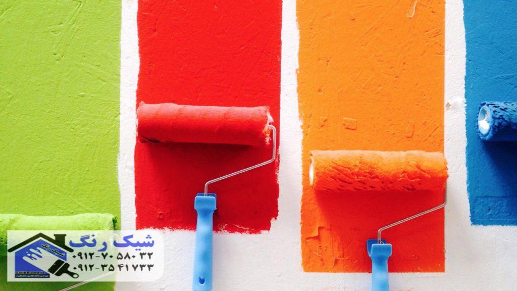 رنگ کار کابینت