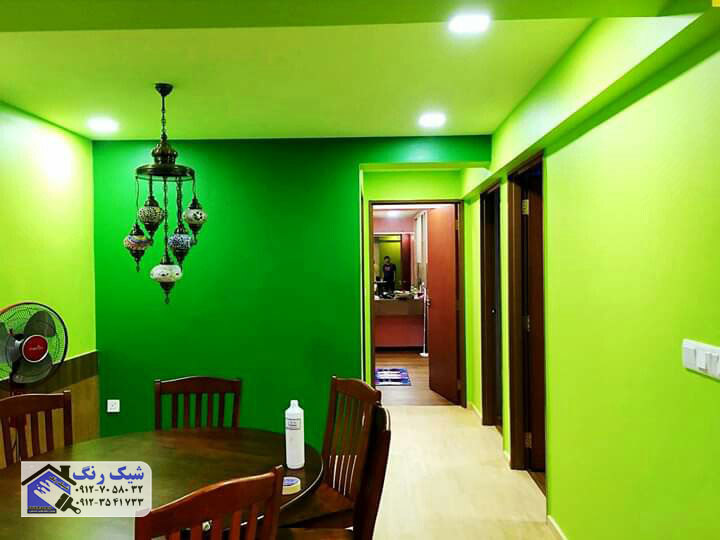 رنگ امیزی منزل