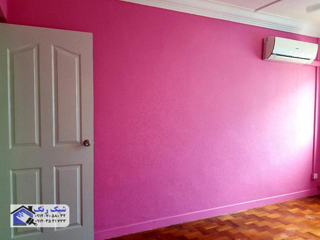 رنگ امیزی خانه