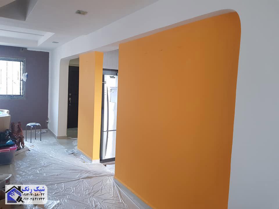 رنگی بزنیم منزل