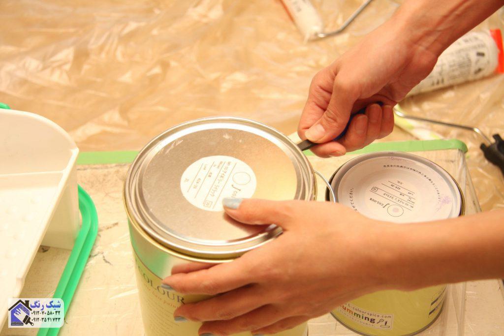 نقاش و رنگ کمد دیواری