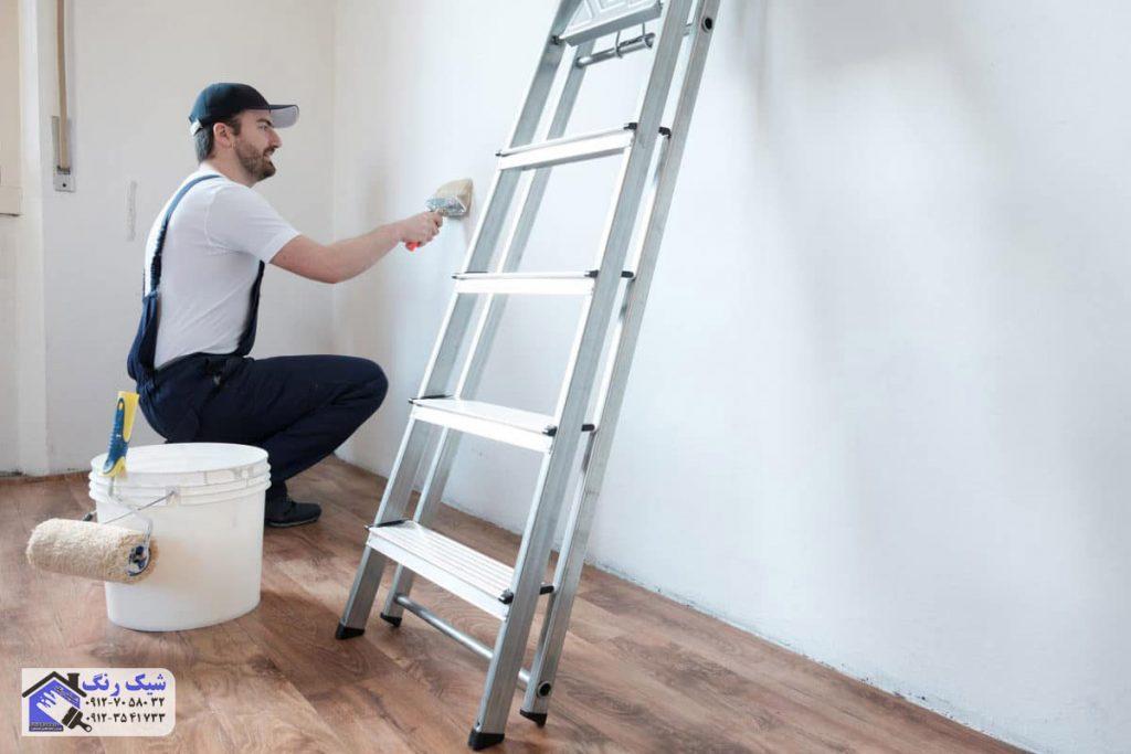 اشتباهات رنگ امیزی ساختمان