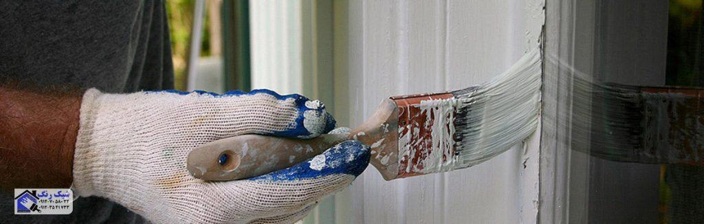 رنگکاری درب و پنجره فلزی