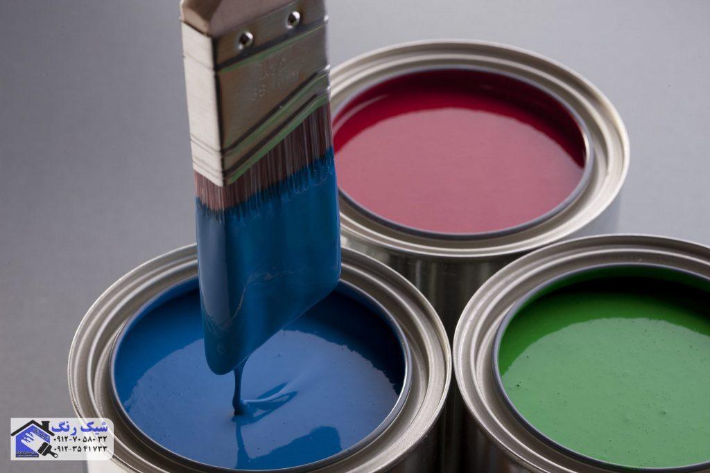 رنگ برای نقاشی درب و پنجره فلزی