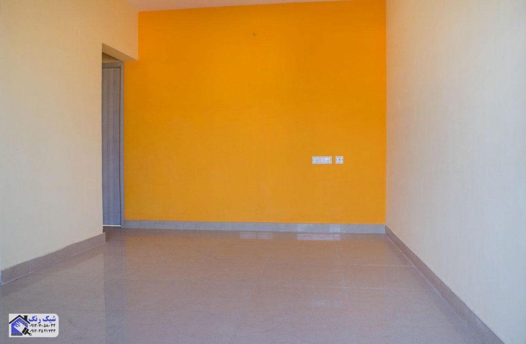 رنگ کار ساختمان