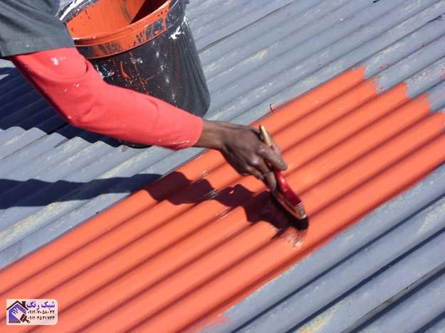 رنگکار سقف شیروانی