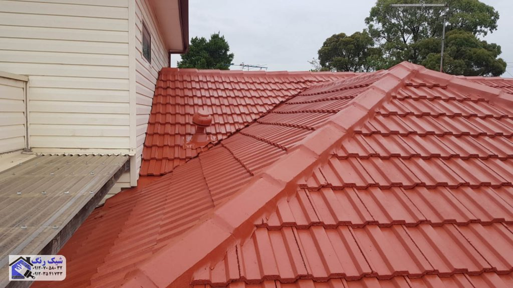 رنگ سقف شیروانی