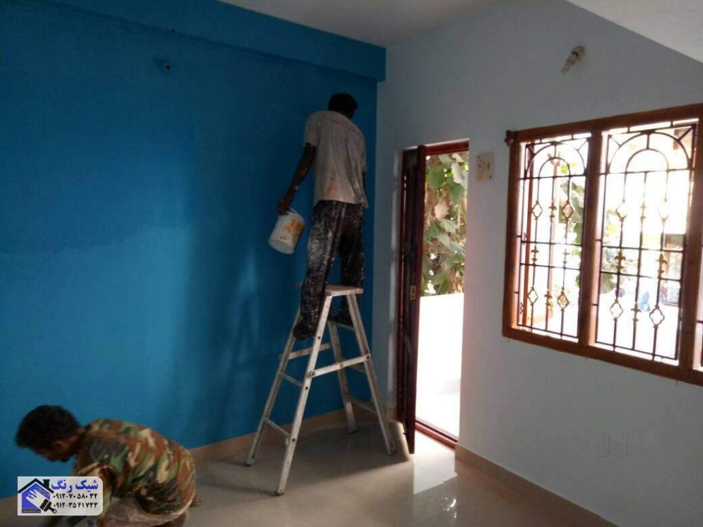 زمان رنگکاری ساختمان