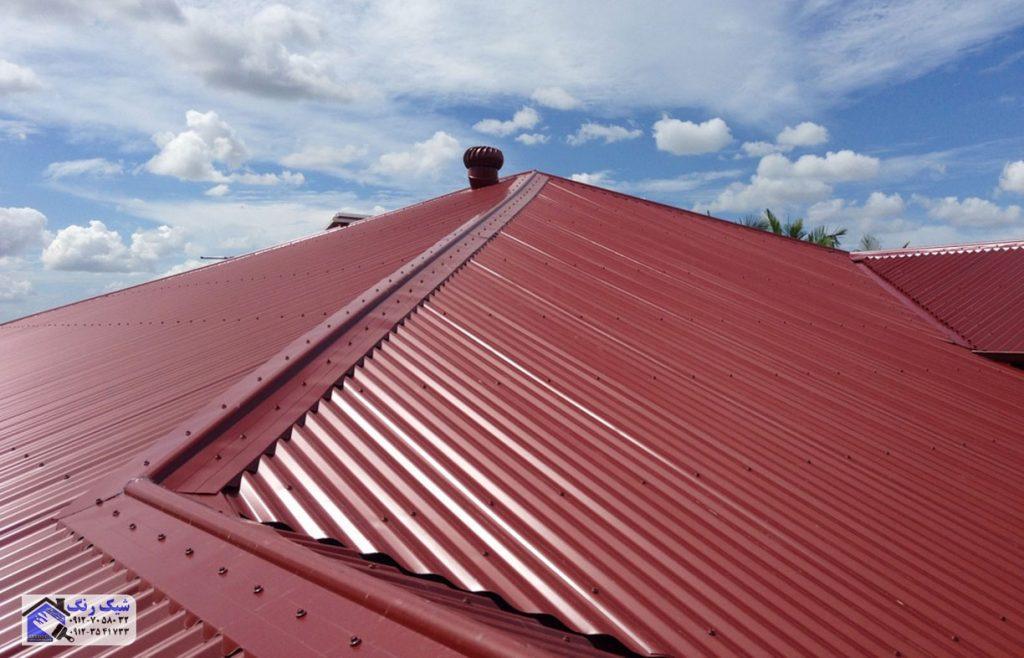 نقاشی سقف شیروانی