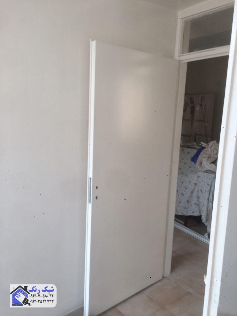 نقاشی نمونه درب اتاق