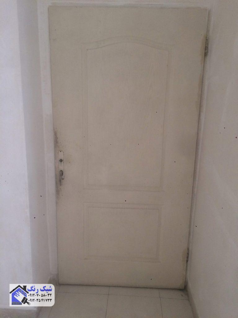 قبل نقاشی درب